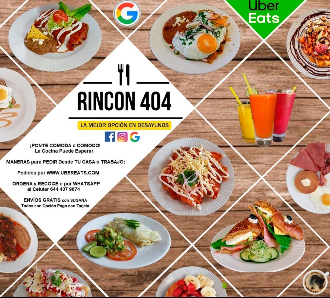 RINCON 404 Desayunos