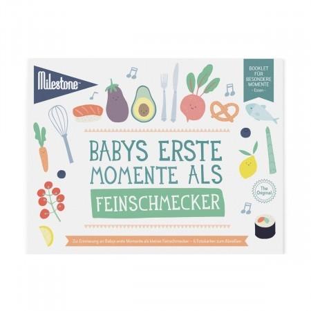 Booklet - Babys erste Momente als Feinschmecker - Milestone