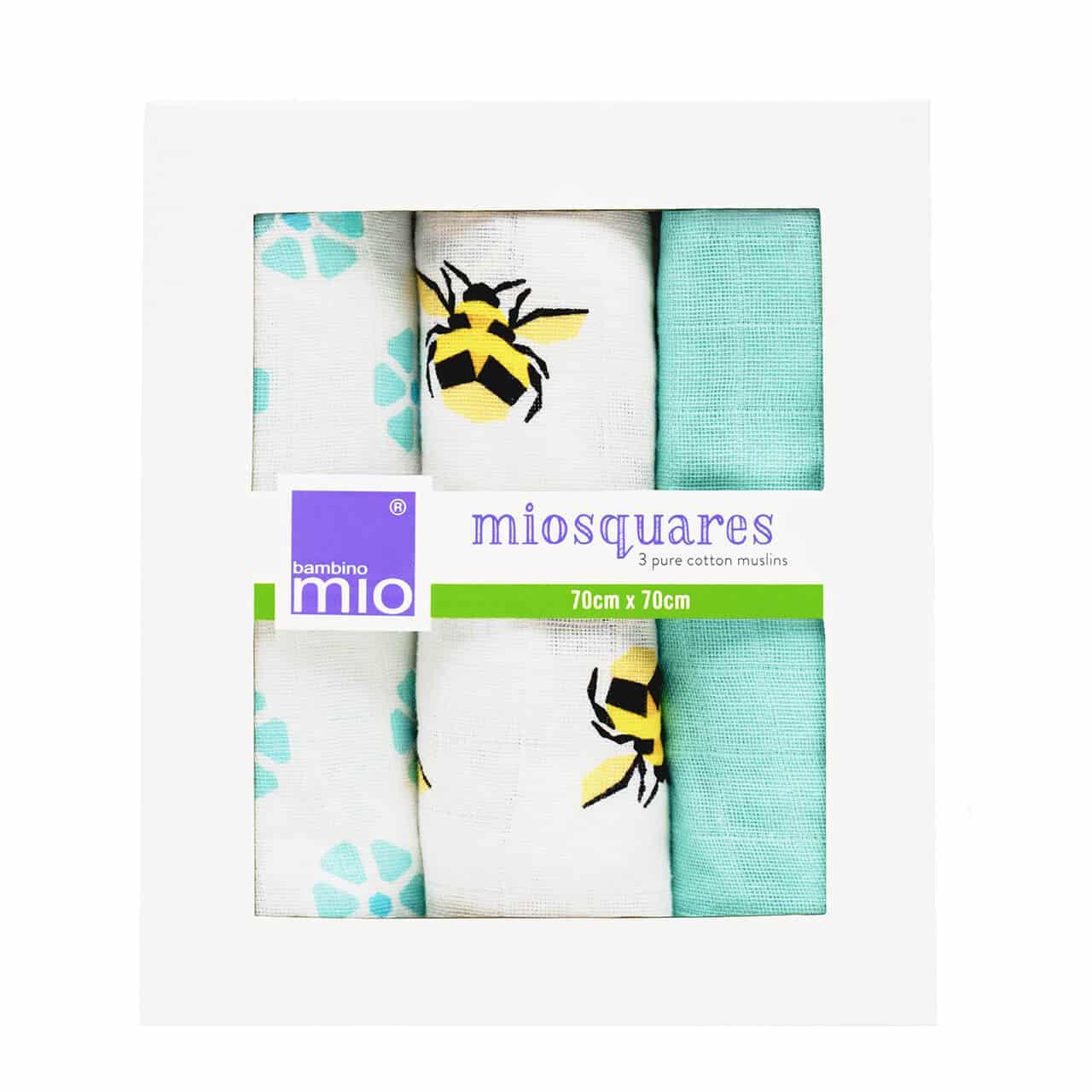 Mullwindeln Honigbiene - Bambino Mio