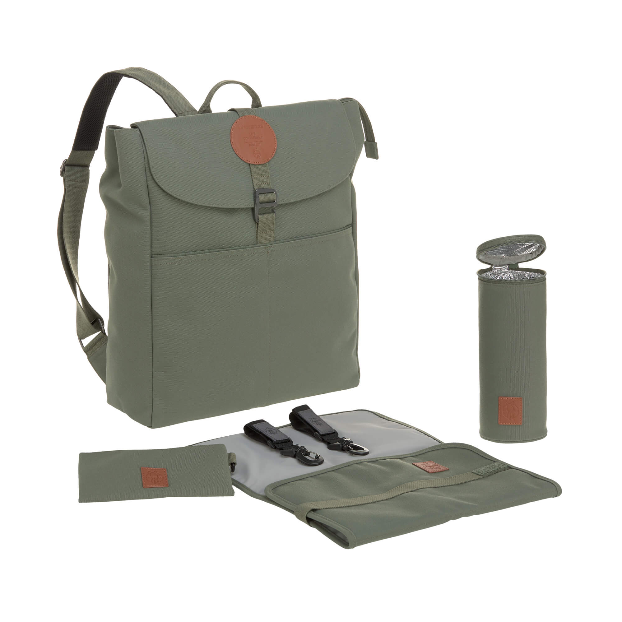 Wickelrucksack Adventure Backpack Olive - Lässig