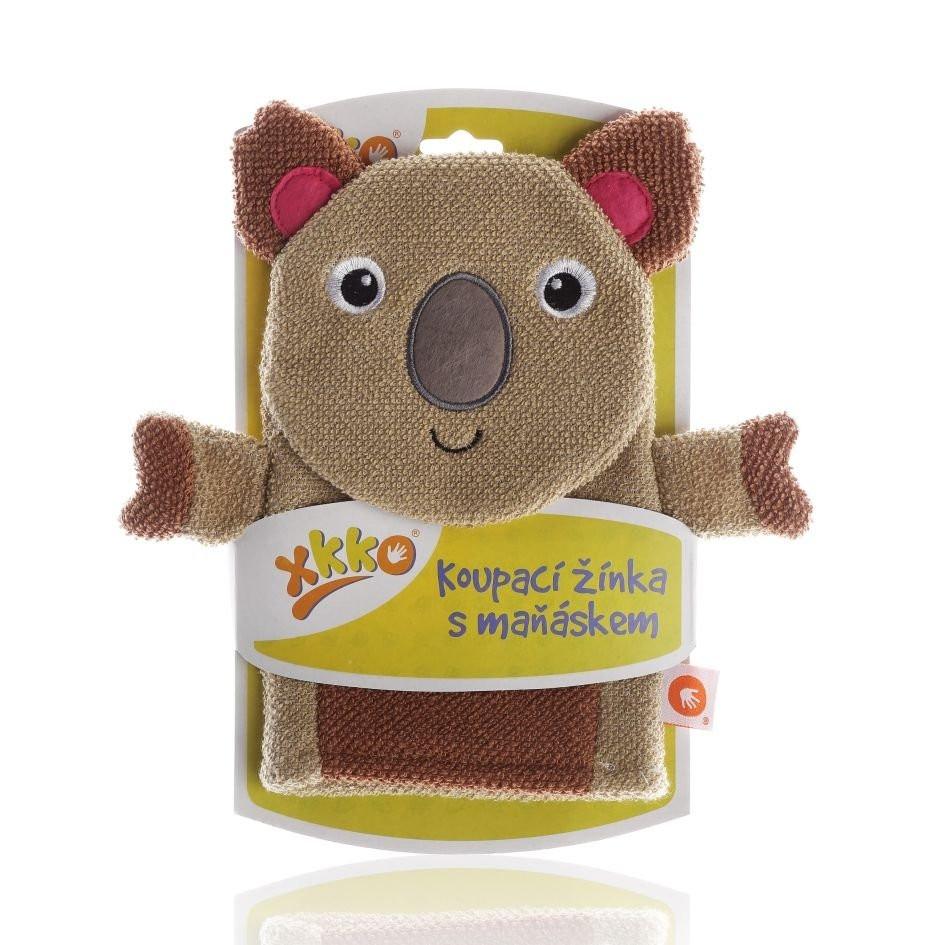 Waschlappen mit Handpuppe Koala - XKKO