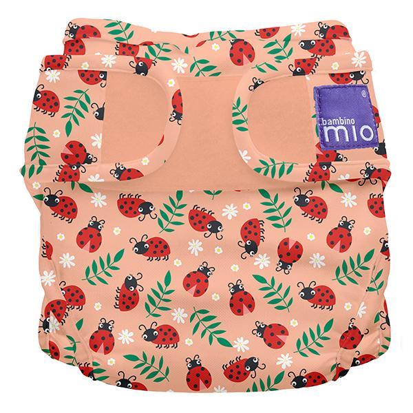 Miosoft Nappy Cover Windelüberhose Loveable Ladybug - Bambino Mio