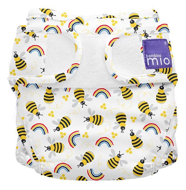 Miosoft Nappy Cover Windelüberhose Honeybee Hive - Bambino Mio