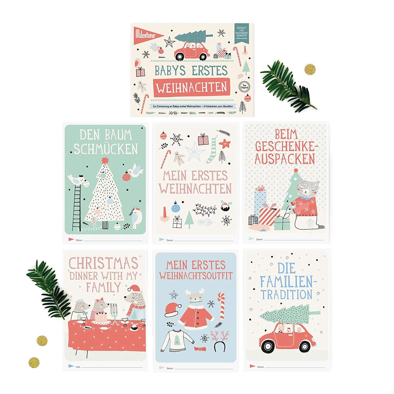 Booklet - Babys erstes Weihnachten - Milestone