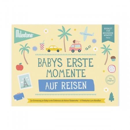 Booklet - Babys erste Momente auf Reisen - Milestone