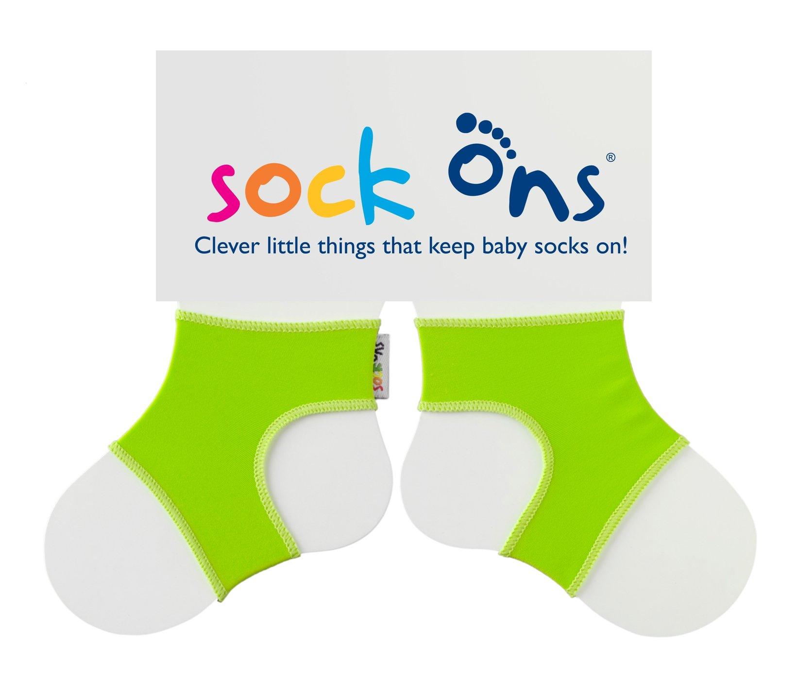 sock ons Grün