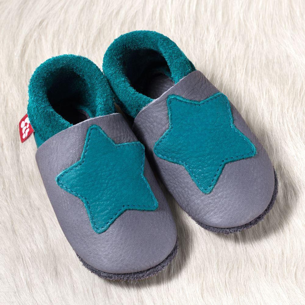 Schuhe 18/19 Kleiner Stern Graphit - Pololo