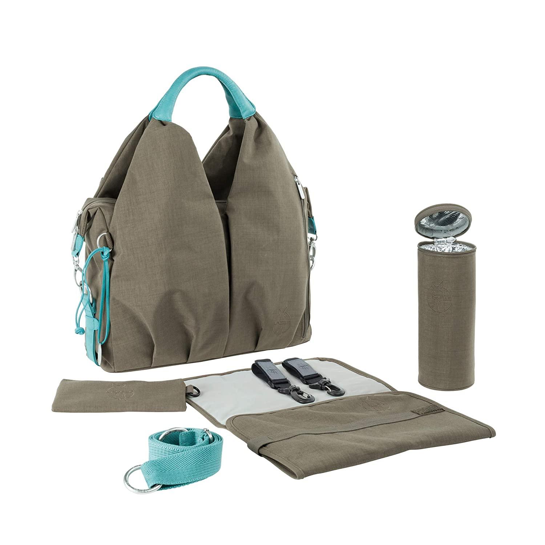 Green Label Neckline Bag Taupe - Lässig