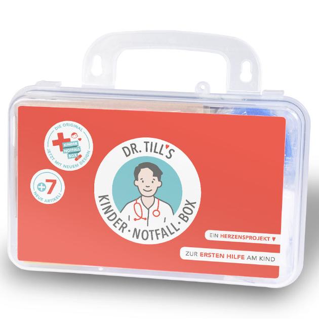 Dr. Tills Kindernotfallbox - Koffer