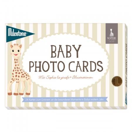 Milestone Cards - Sophie la girafe