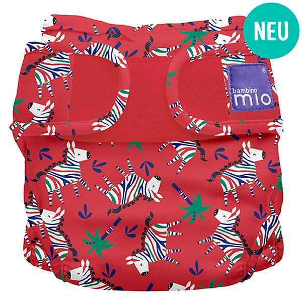 Miosoft Nappy Cover Windelüberhose Zebra Dazzle - Bambino Mio