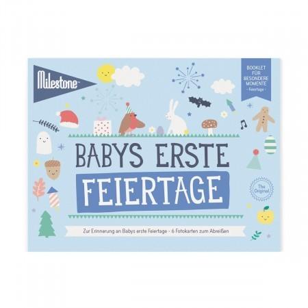 Booklet - Babys erste Feiertage - Milestone