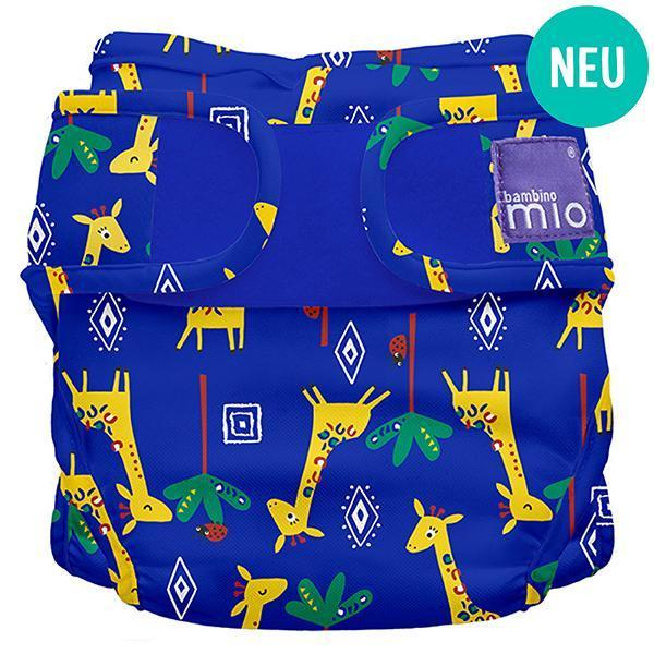 Miosoft Nappy Cover Windelüberhose Giraffe Jamboree - Bambino Mio