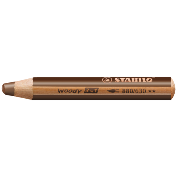 Woody Stift Braun - Stabilo