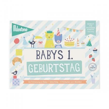 Booklet - Babys 1. Geburtstag - Milestone