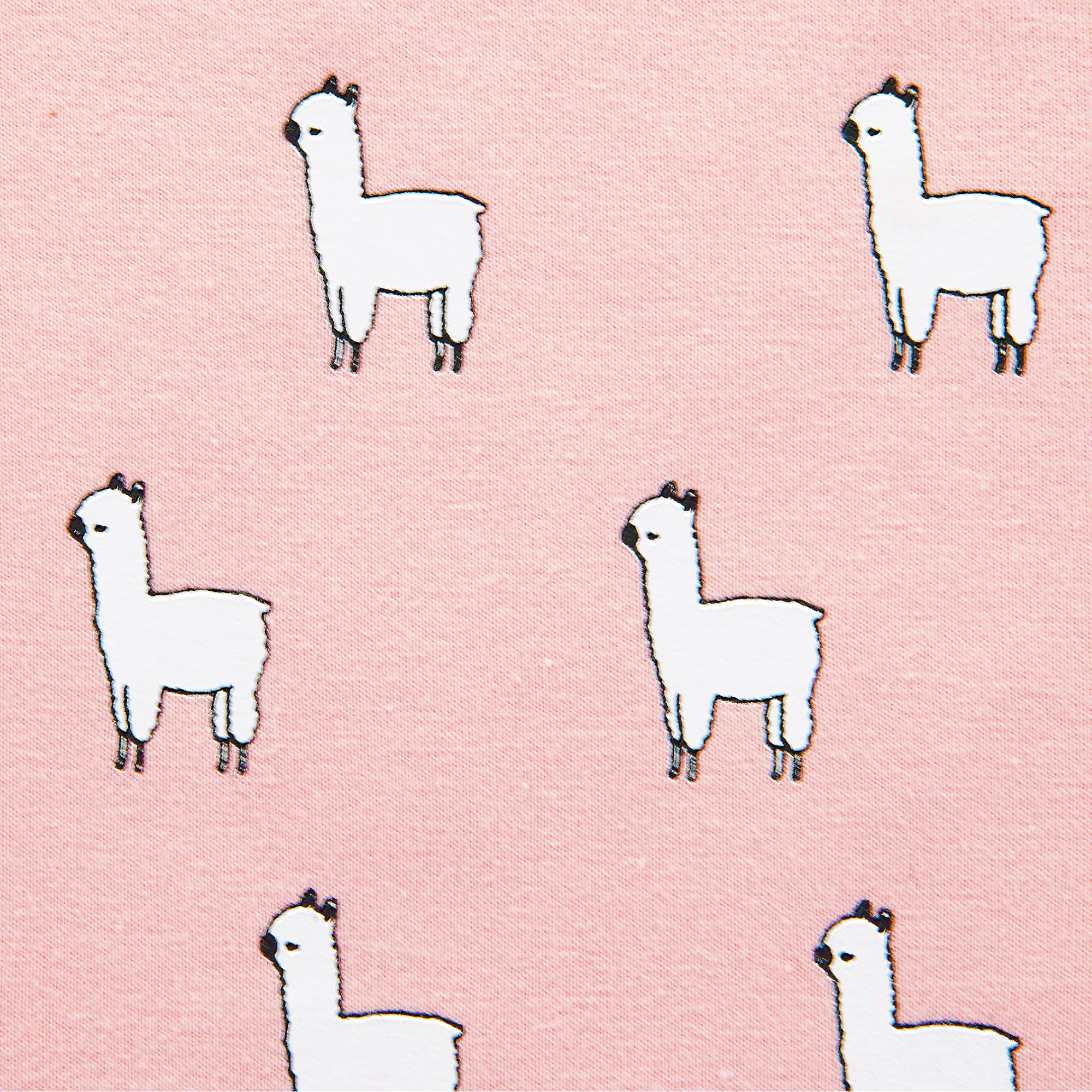 Body Langarm Lama Blush Pink - jollein