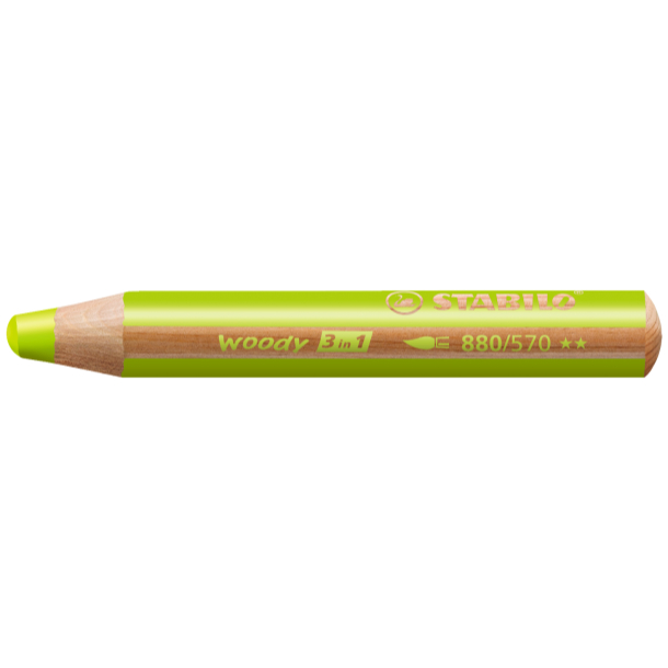 Woody Stift Hellgrün - Stabilo
