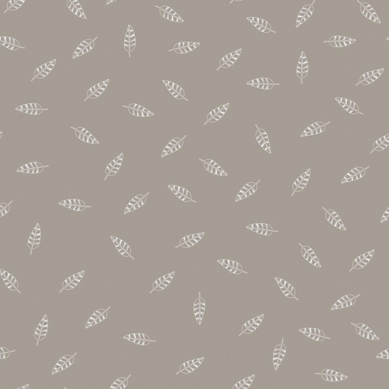 Stillkissen Blättertanz Taupe - Original (190cm) - Theraline