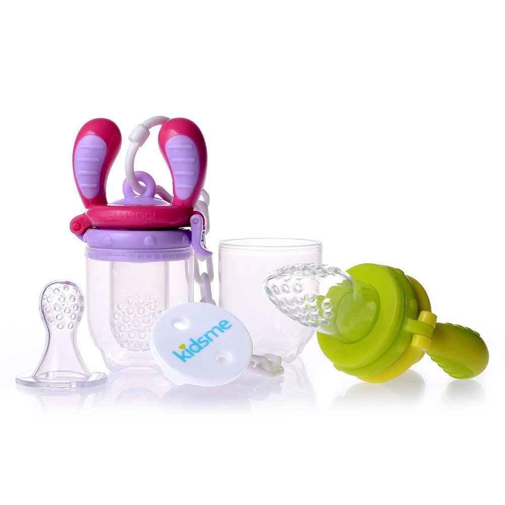 Food Feeder Starter Pack Grün Lila - kidsme