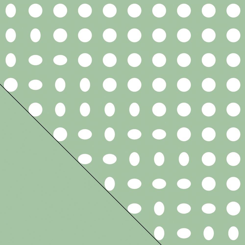 Stillkissen Bezug Indie Dots grün - Theraline