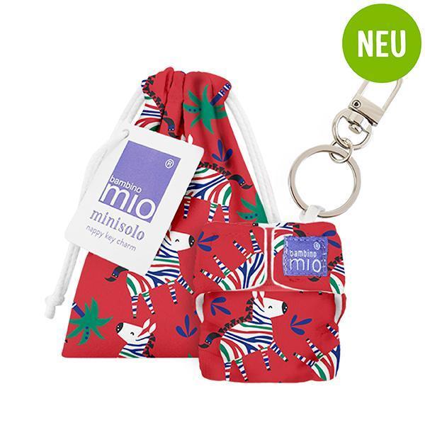 Minisolo Schlüsselanhänger Zebra Dazzle - Bambino Mio
