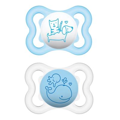 Schnuller Air Tiere blau - MAM