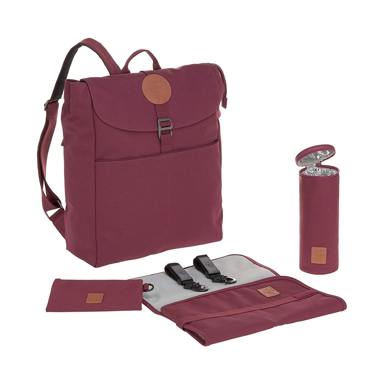 Wickelrucksack Adventure Backpack Burgundy - Lässig