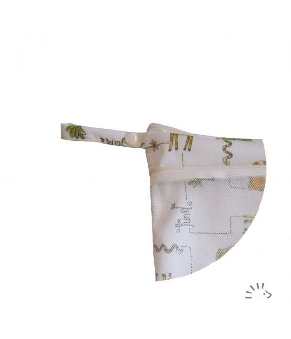 Windelsack mit Netztasche - Jungle - PoPoLiNi