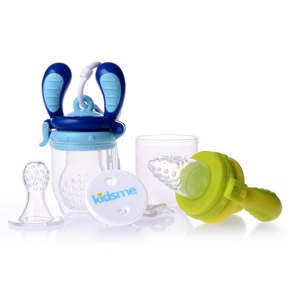 Food Feeder Starter Pack Grün Blau - kidsme