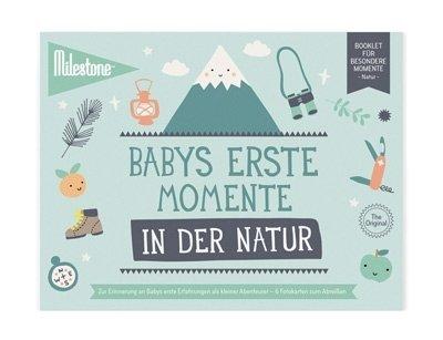 Booklet - Babys erste Momente in der Natur - Milestone
