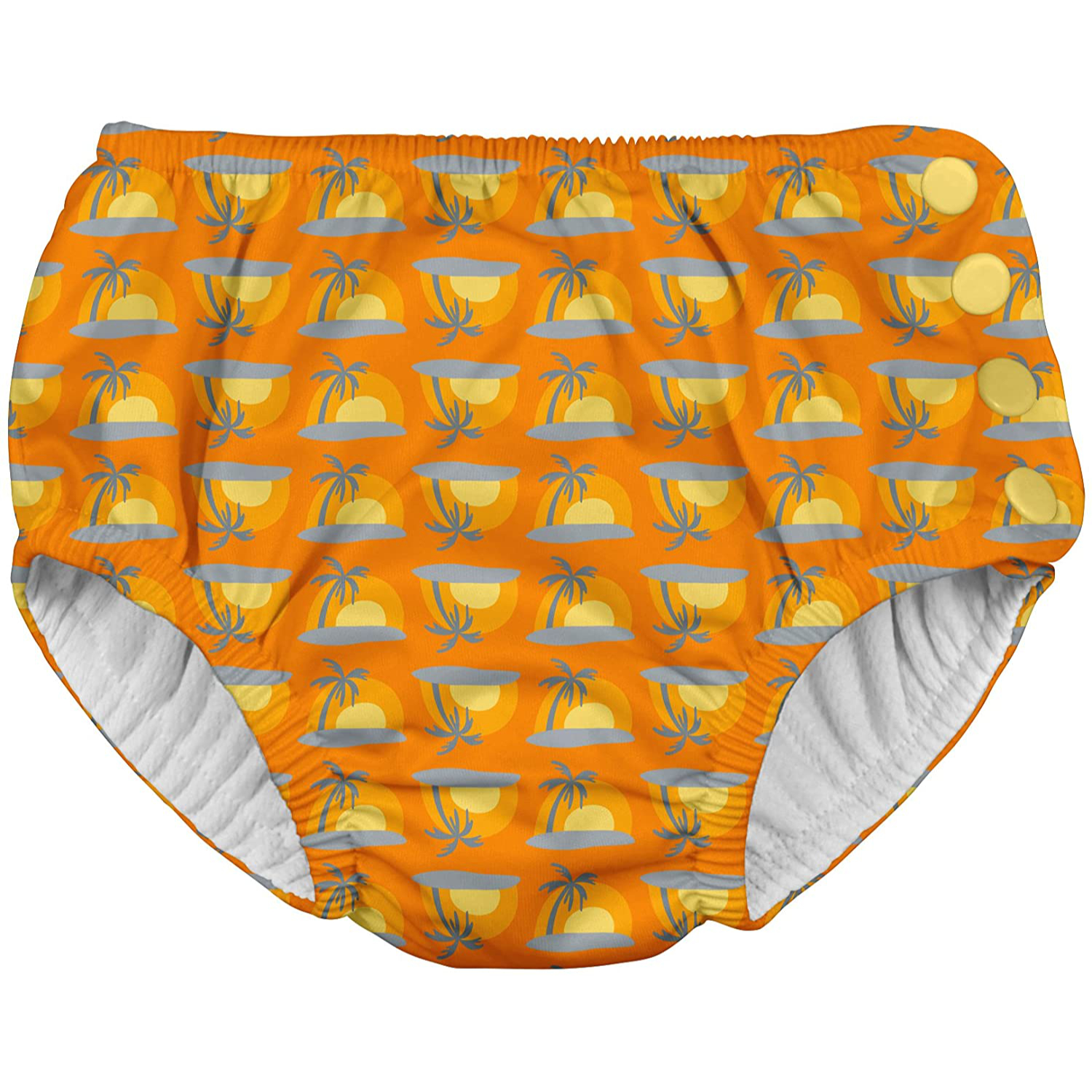 Schwimmwindel ab 6 Monate Orange Sunset Geo - iPlay