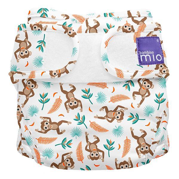 Miosoft Nappy Cover Windelüberhose Spider Monkey - Bambino Mio