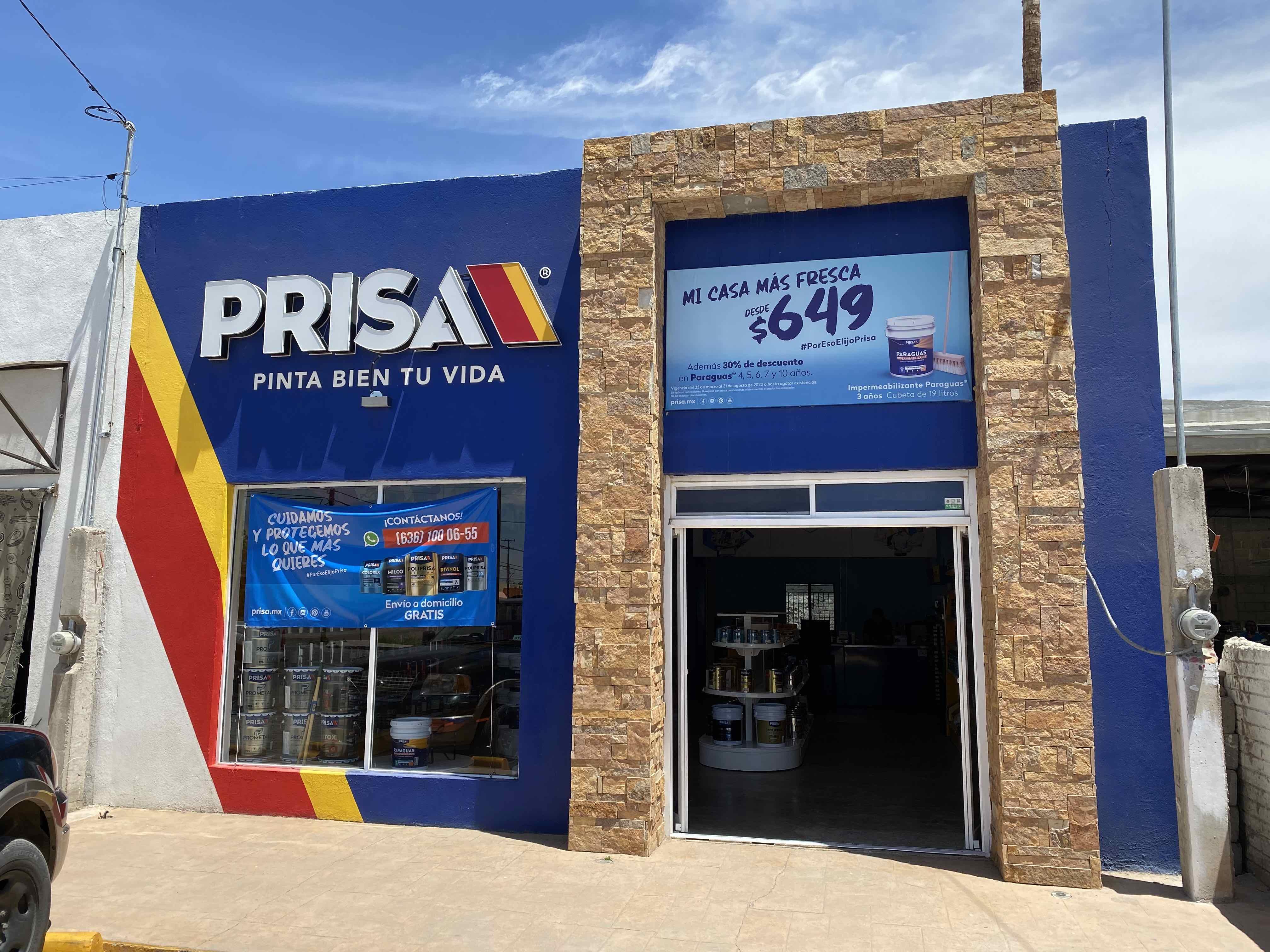 Pinturas PRISA - Tienda Nuevo Casas Grandes