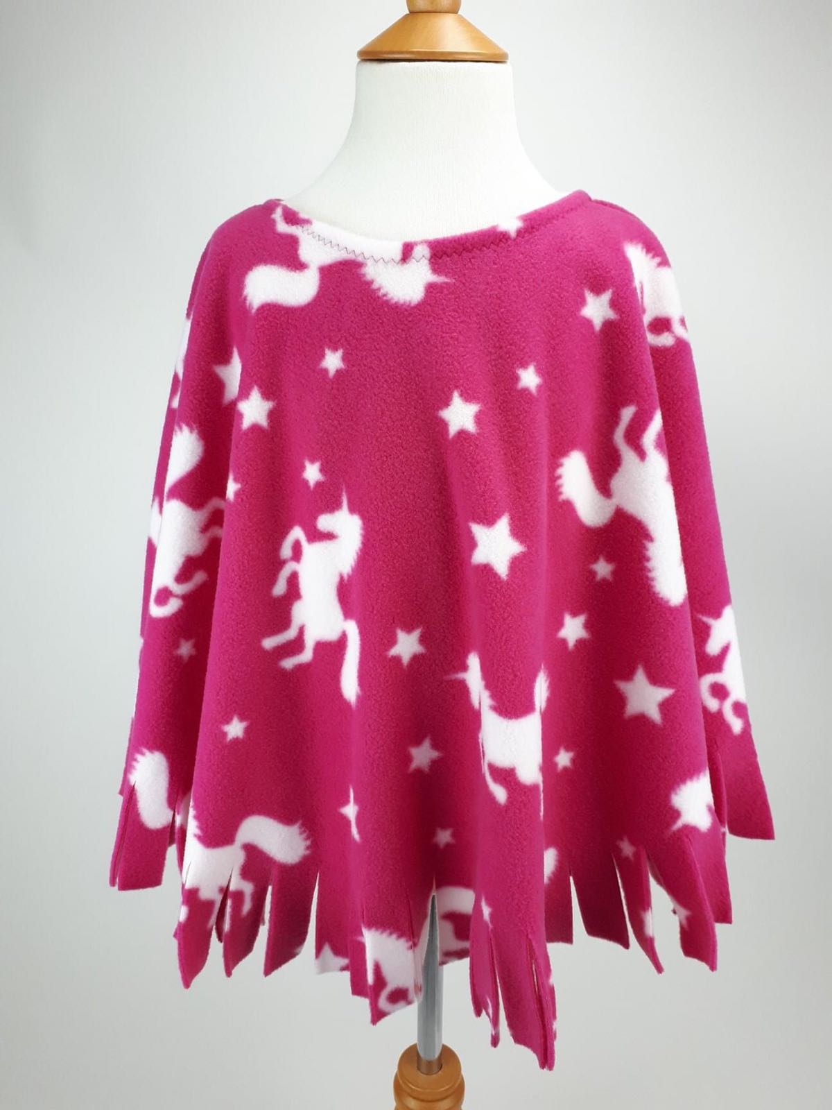 Pink Unicorn Poncho