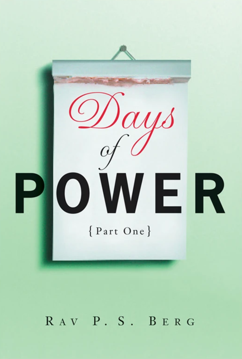 Days of Power: part 1