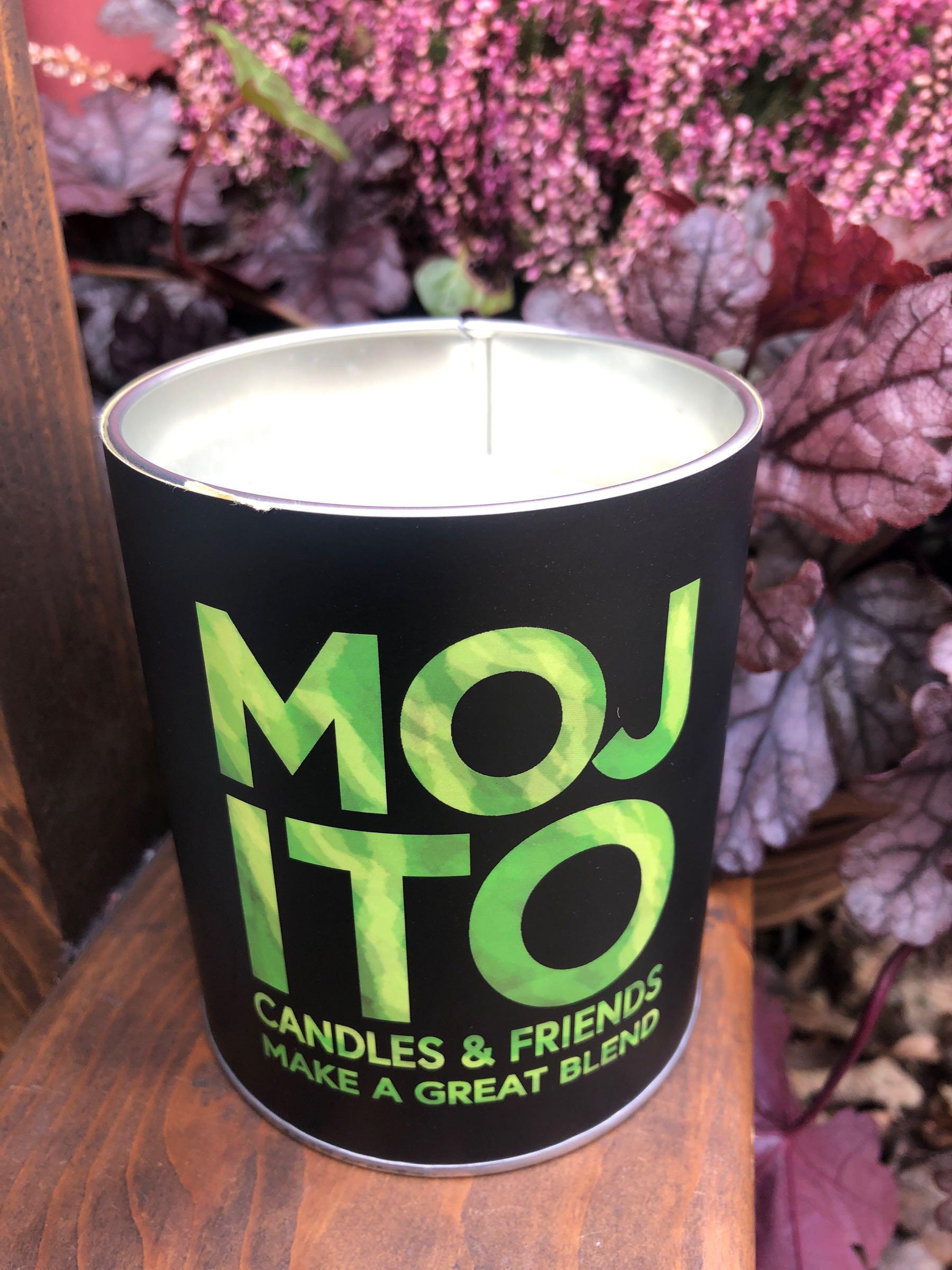 Scented candle Mojito 9x11cm, 190019