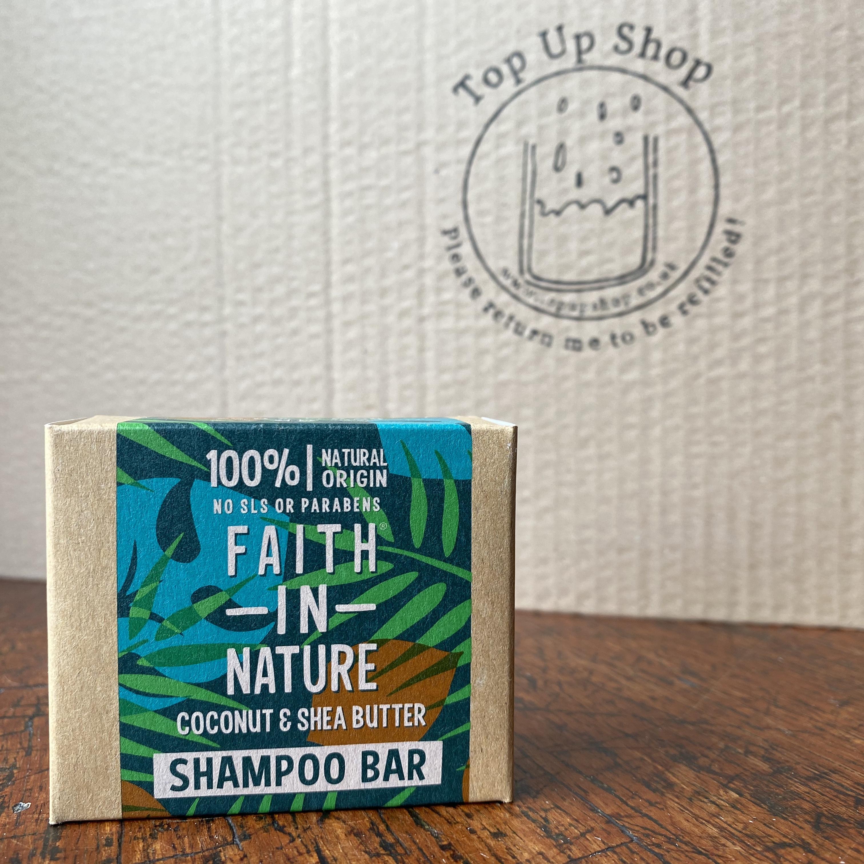 Faith in Nature Shampoo Bars