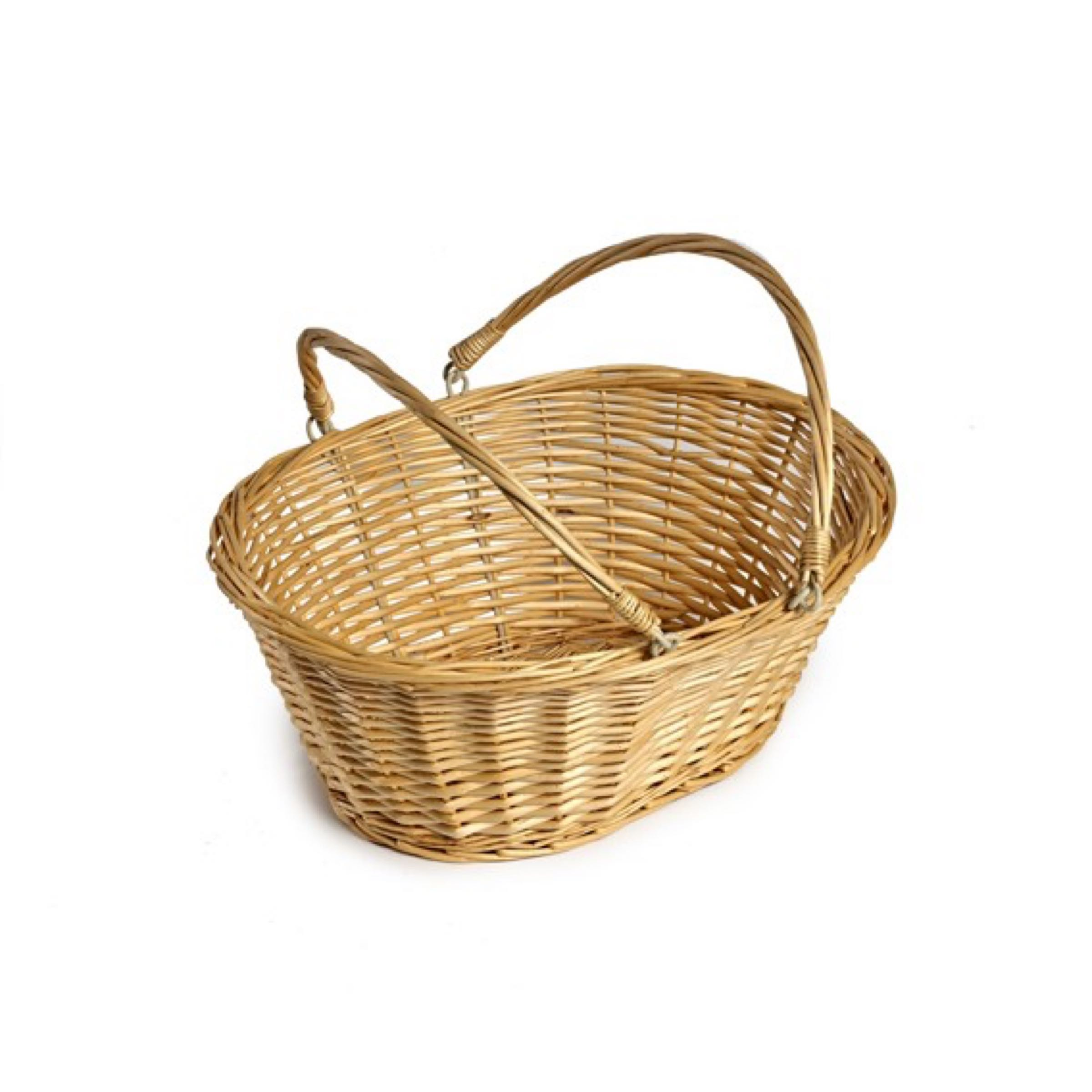 Large Wicker Basket - Select and build your own hamper!