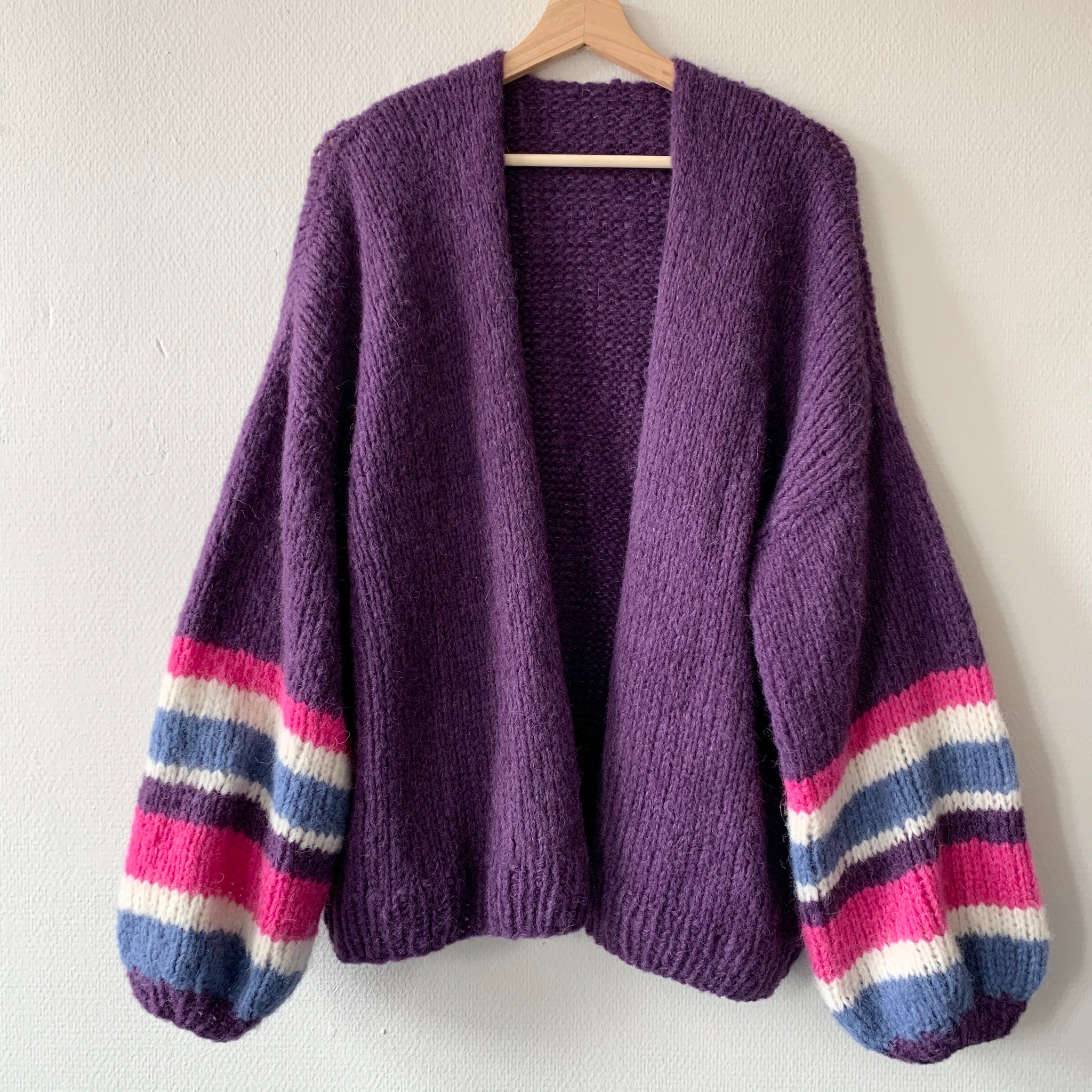 Strikket cardigan -50%