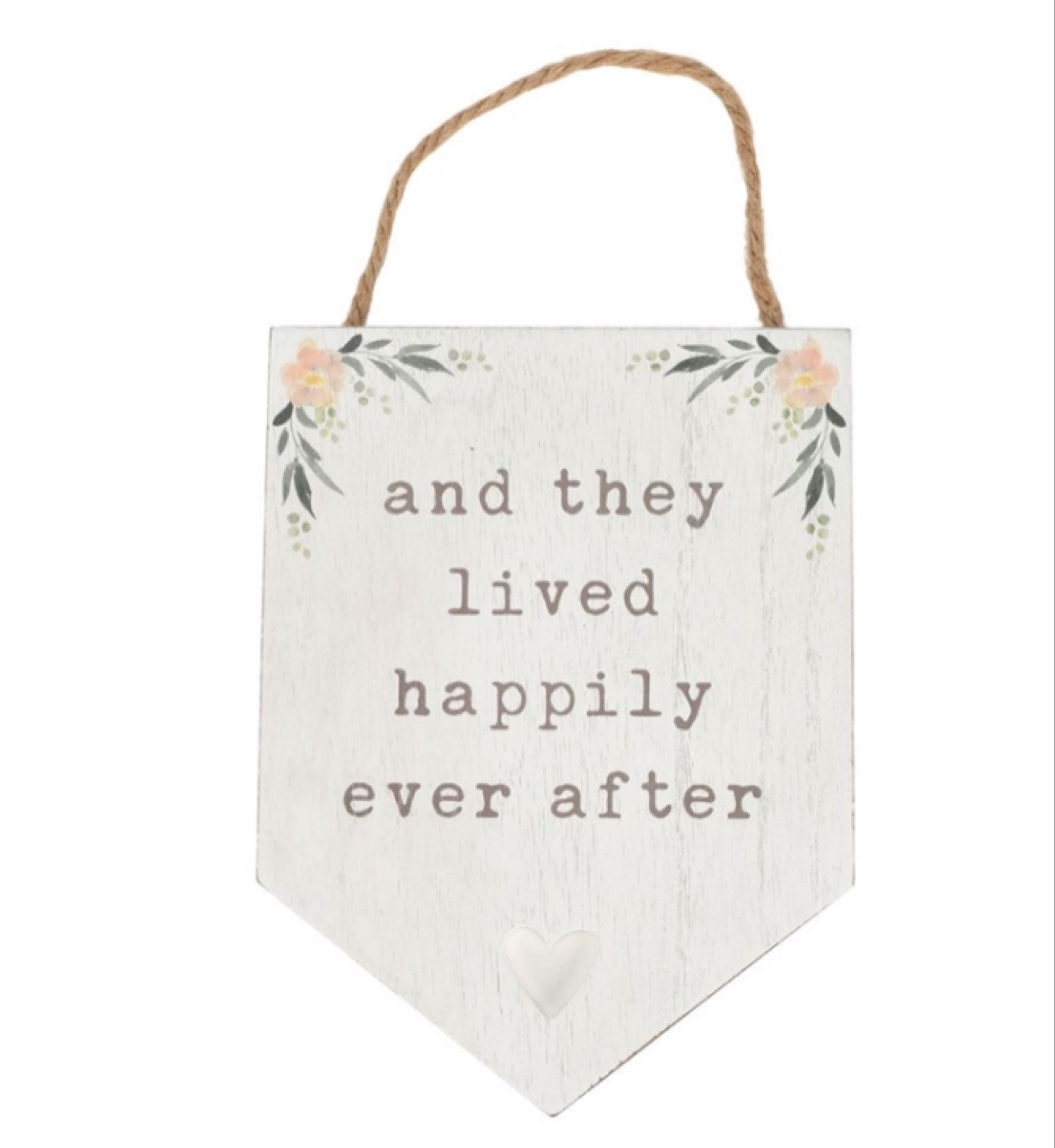 Happily Ever After Plaques 20cm