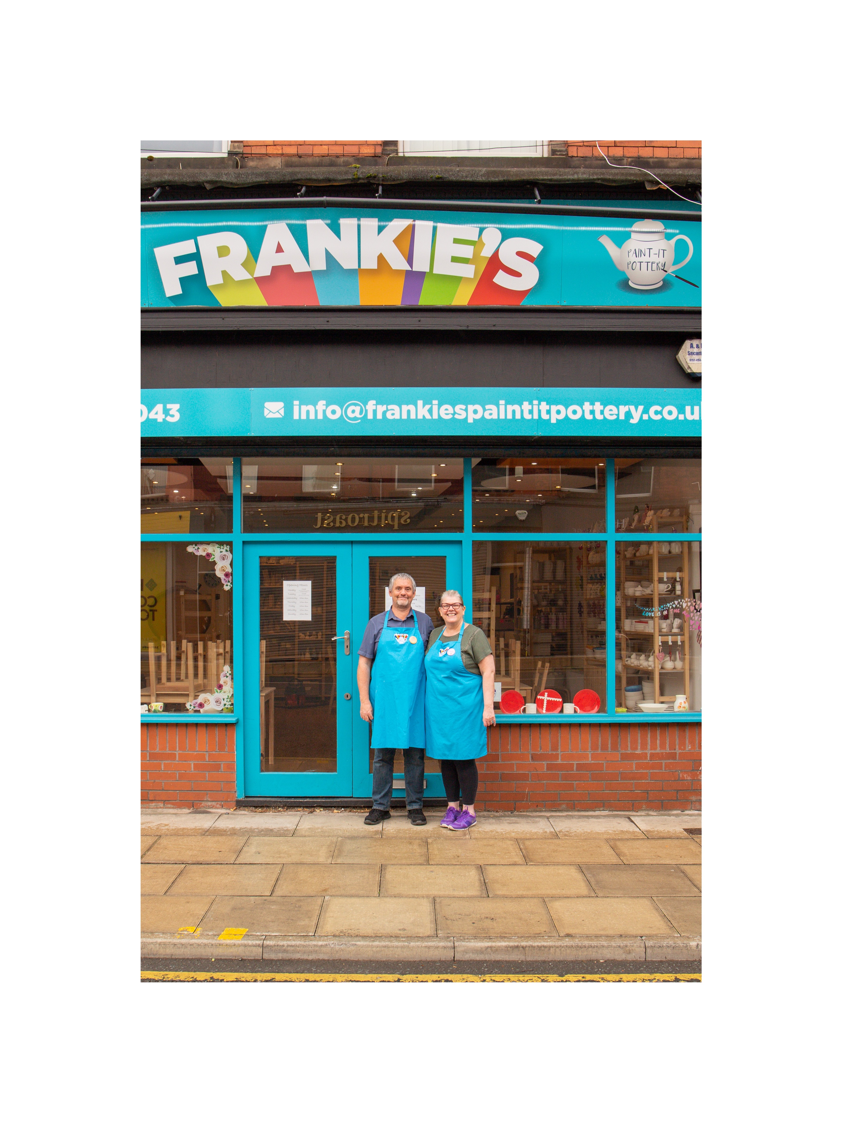 FRANKIE'S PAINT-IT POTTERY LIMITED