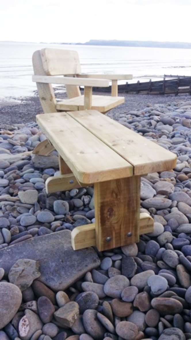 Small Bench / Side Table