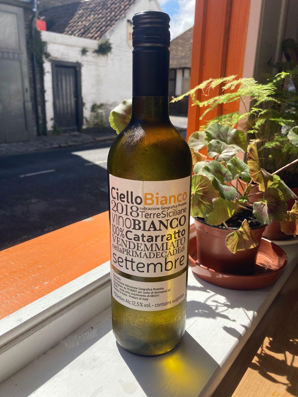 Ciello Bianco - Catarratto (12.5%)(Sicily)