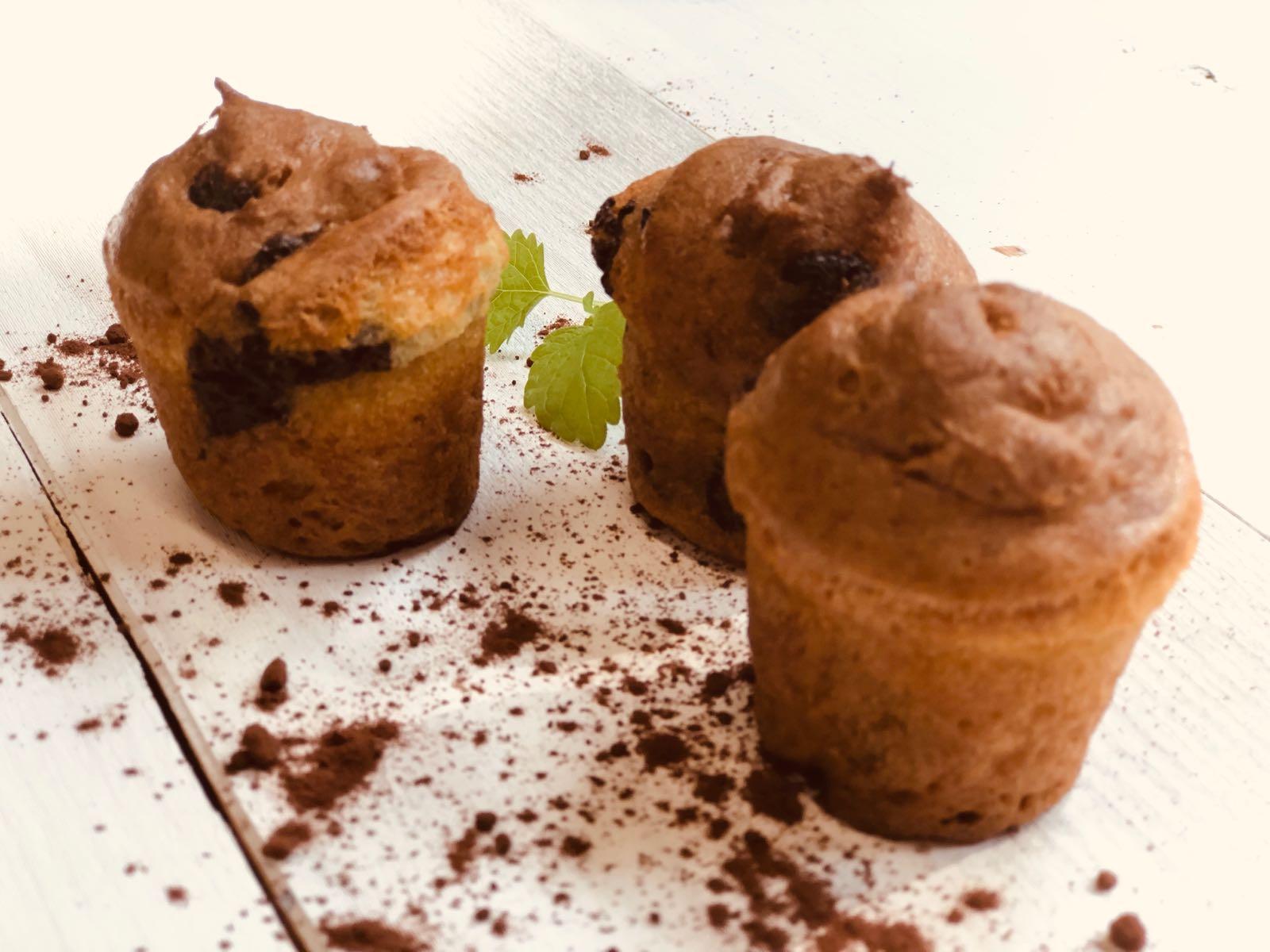 Muffin Choklad & Vanij 1 st