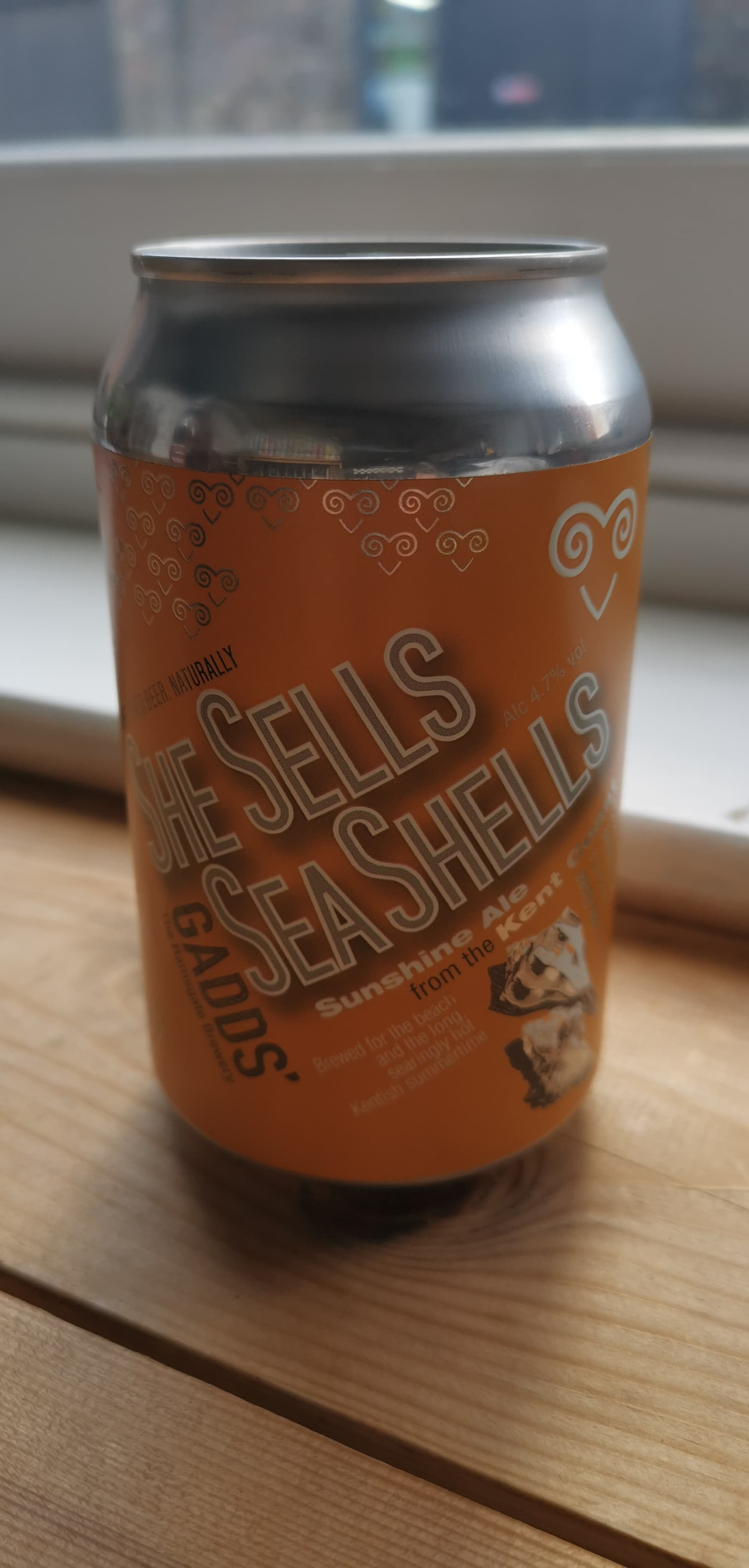 Gadds' - She Sells Sea Shells (4.7% Golden Ale) (The Ramsgate Brewery)