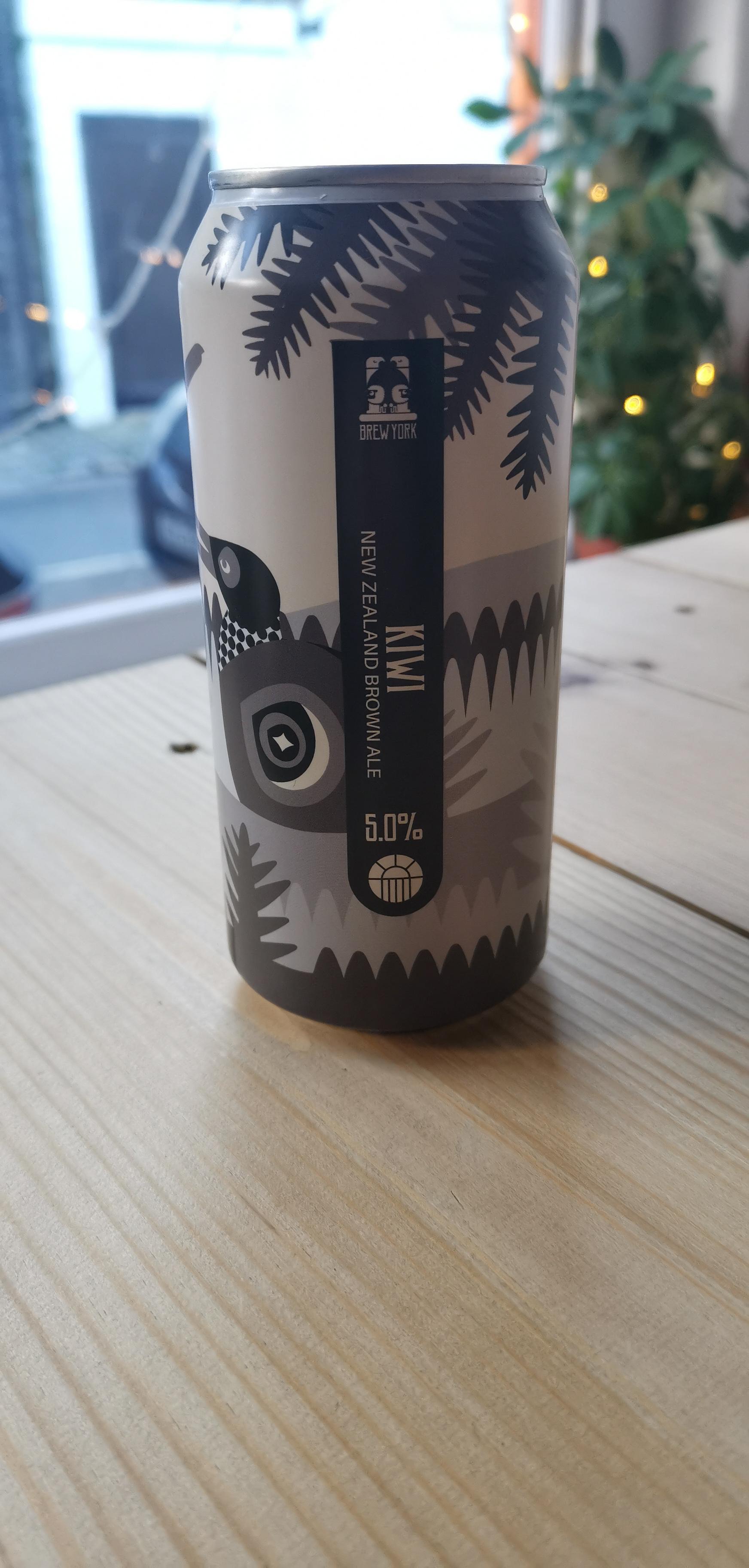 Brew York - Kiwi (5.0% Brown Ale)