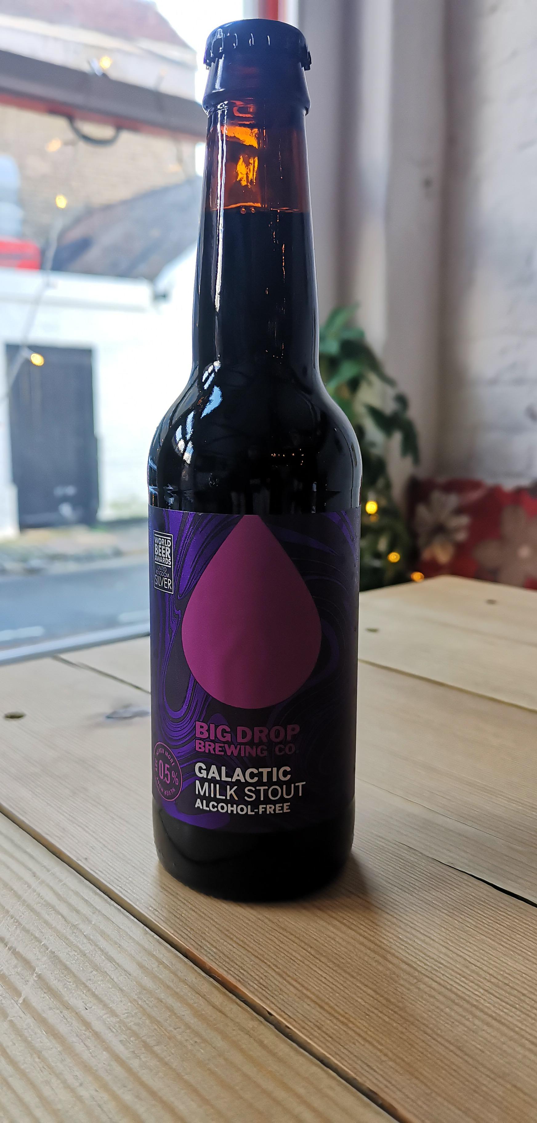 Big Drop Brewing Co. - Galactic (0.5% Milk Stout)
