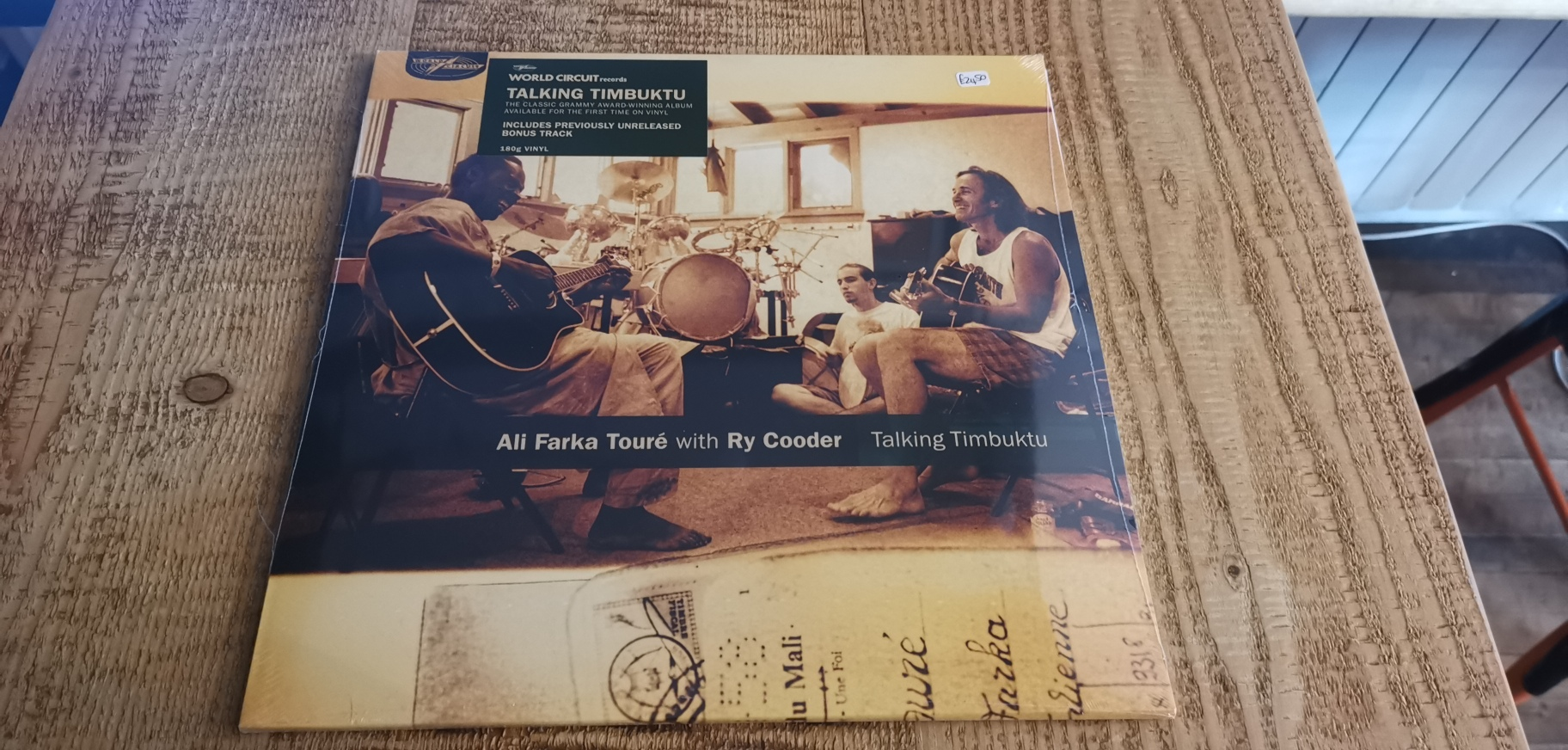 Ali Farka Toure with Ry Cooder - Talking Timbuktu
