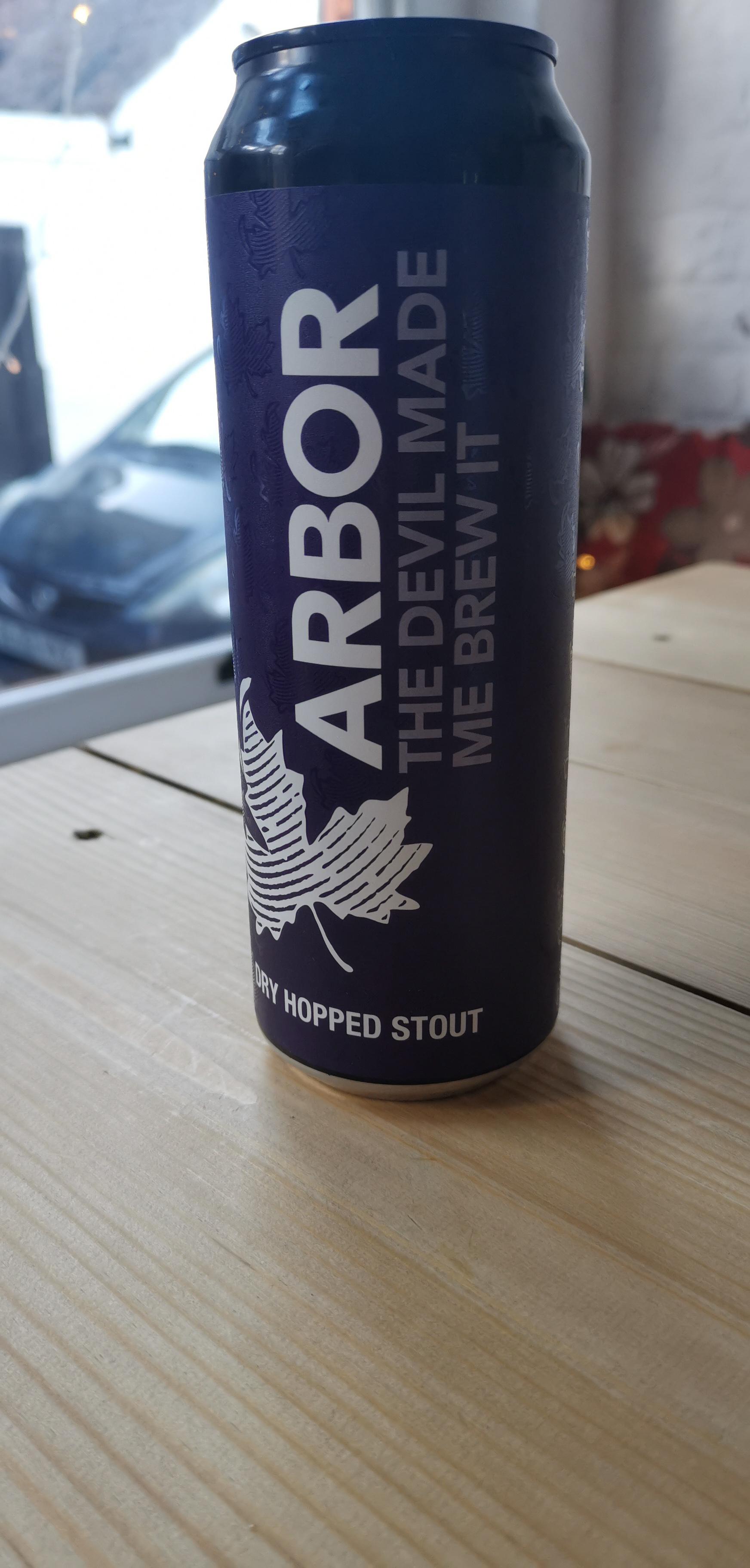 Arbor Ales - The Devil Made Me Brew It (5.5% Dry Hopped Stout)