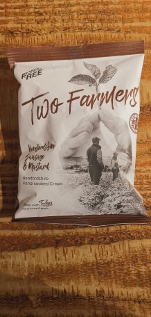 Two Farmers Crisps - Herefordshire Sausage & Mustard